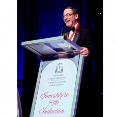 Dr. Mark Wainberg is inducted into the Canadian Medical Hall of Fame.