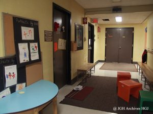Child Psychiatry facilities at the JGH before the move in 2010 to the Ruth and Saul Kaplan Pavilion.