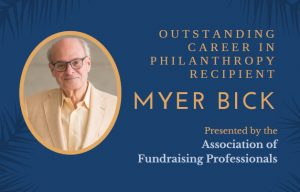 Myer Bick invitation