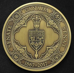 The Senate of Canada's 150th Anniversary Medal