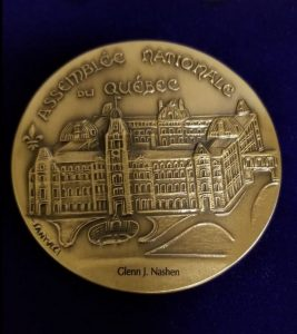 The D'Arcy McGee Medal of Citizenship