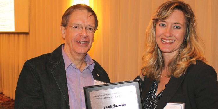 Le Dr Roderick McInnes et Janik Jacmain
