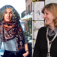 Dre Cécile Rousseau (à gauche) et Dre Carmen Loiselle