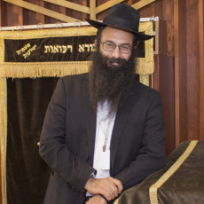Rabbi Barak Nissim Hetsroni, Chaplain of the Jewish General Hospital.