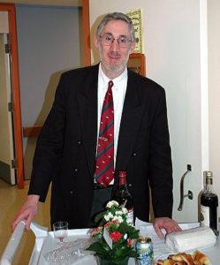 Rabbi Michael Wolff, Chaplain Donald Berman Maimonides Geriatric Centre and Donald Berman Jewish Eldercare Centre.