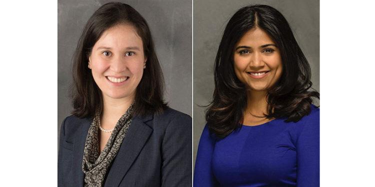 La Dre Allison Pang (à gauche) et la Dre Ipshita Prakash