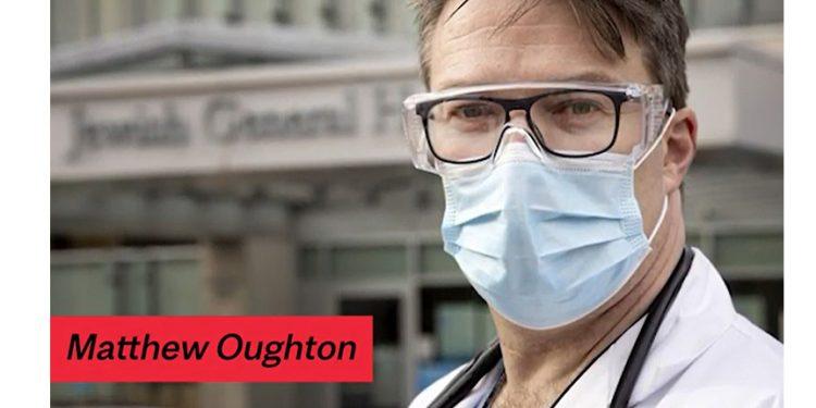 Le Dr Matthew Oughton sur YouTube lors d'une cérémonie à l'université McGill au cours de laquelle il a reçu l'un des Prix de la principale pour le rayonnement du savoir dans les médias et auprès du public.