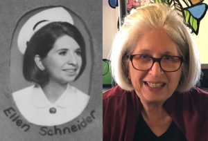 In the accompanying article, Ellen (Schneider) Becker looks back at the JGH School of Nursing, from which she graduated in 1971.