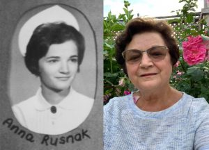 Anna Rusnak, a 1971 graduate of the JGH School of Nursing, shares her memories about her education in the accompanying article.